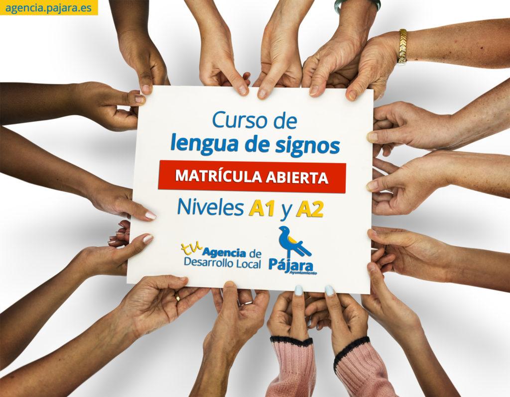 curso de lengua de signos en Morro Jable
