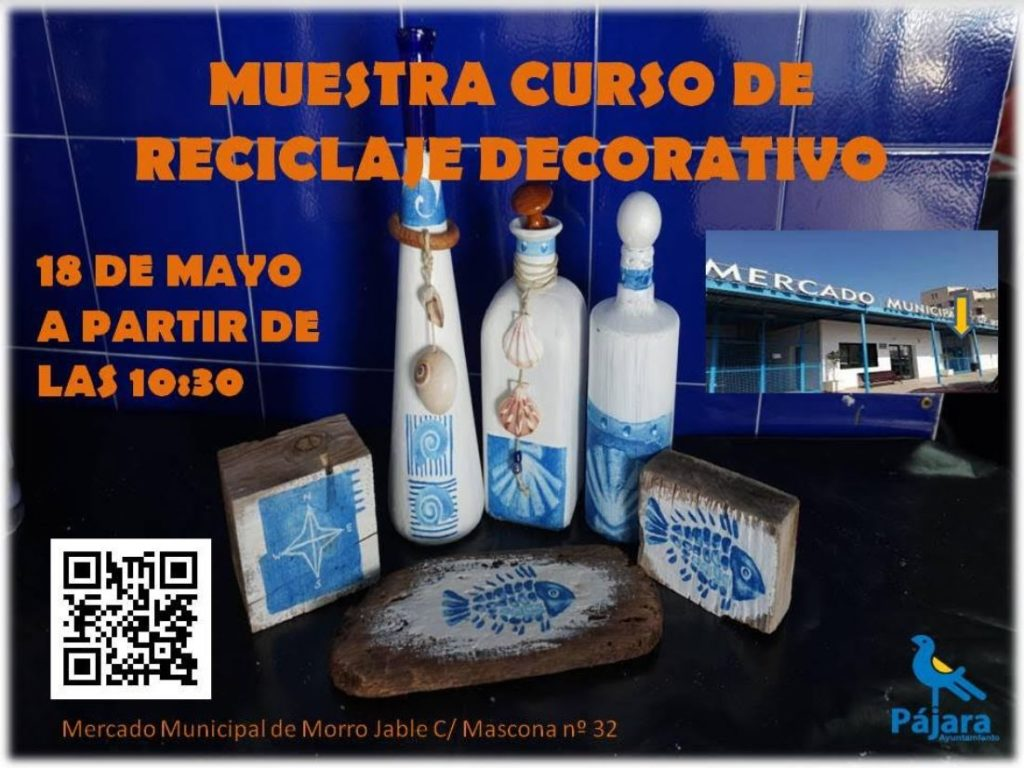 Curso de reciclaje decorativo en Morro Jable